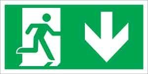 Menekülési út le (jobb