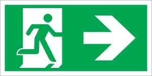 Menekülési út jobbra (ISO)