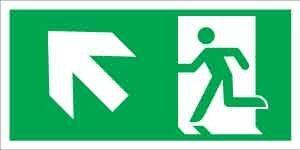 Menekülési út balra