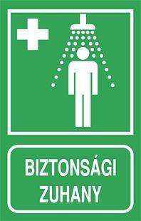 Biztonsági zuhany