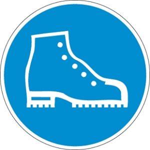 Biztonsági betétes védőcipő használata kötelező!