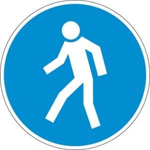 Gyalogosok részére!