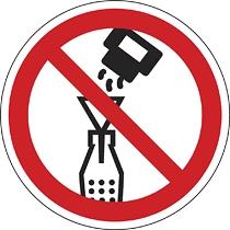 A flakonba idegen anyagot tölteni tilos!