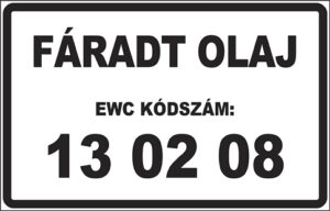 EWC-kódos táblák