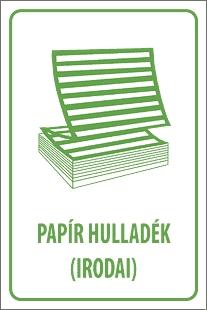 Papírhulladék (irodai)