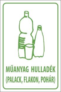 Műanyag hulladék (palack