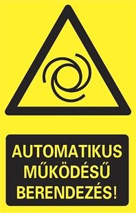 Automatikus működésű berendezés