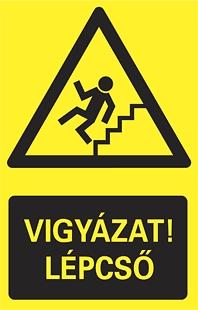 Vigyázat! Lépcső!