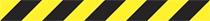 Veszélyt jelző csík (sárga/fekete)