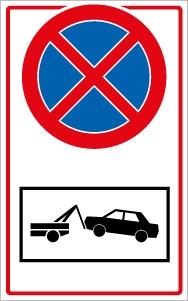 Kapubejáró! Megállni tilos! Autó elszállítás!